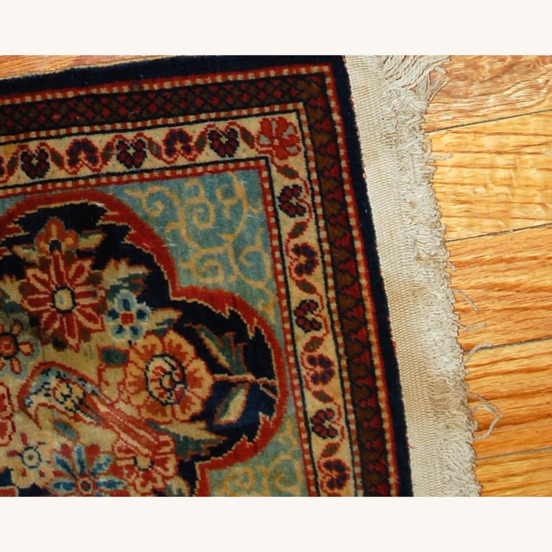 Handmade Antique Persian pair of Dabir Kashan Rugs - image-3