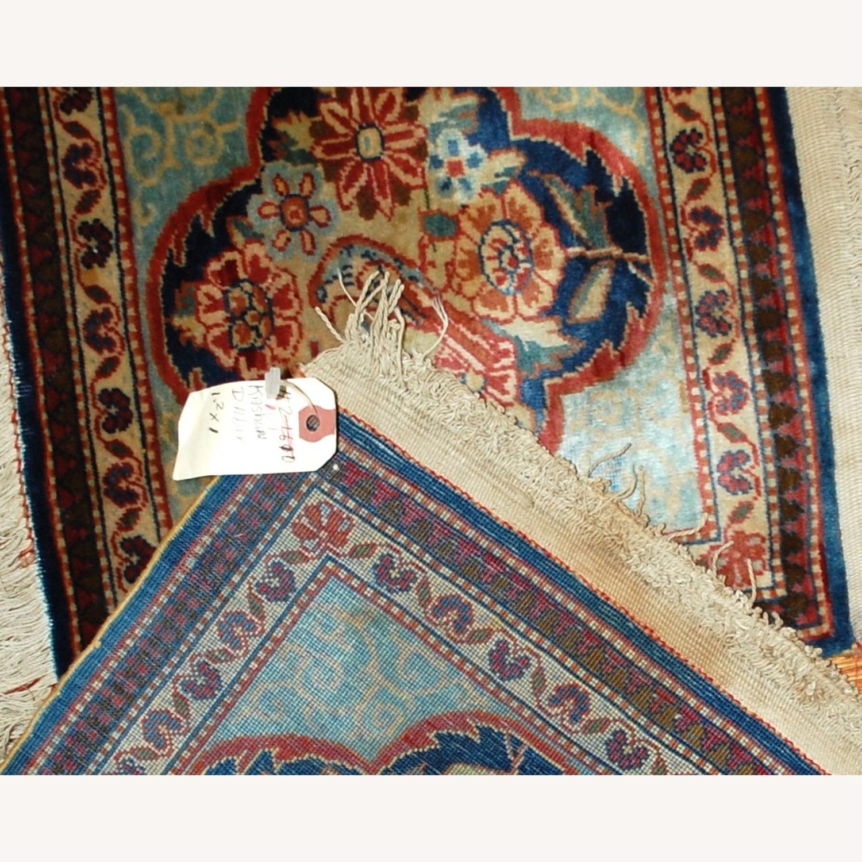 Handmade Antique Persian pair of Dabir Kashan Rugs - image-5