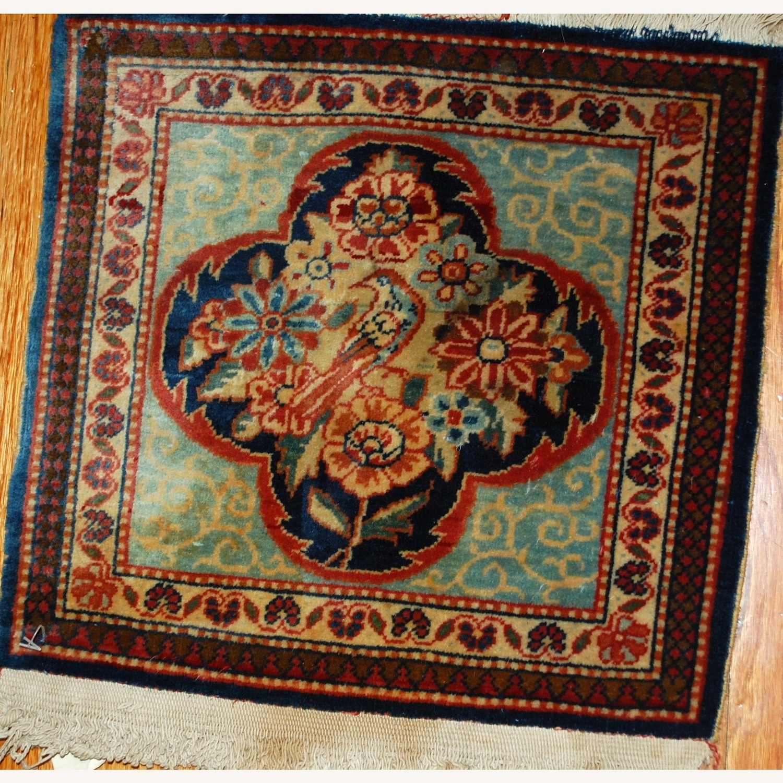 Handmade Antique Persian pair of Dabir Kashan Rugs - image-10