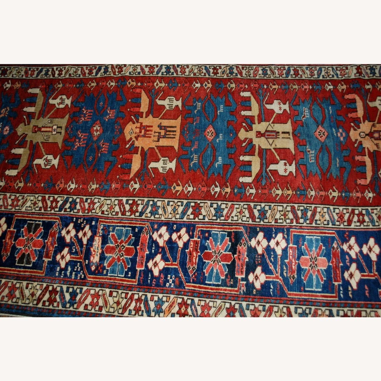 Handmade Antique Caucasian Azerbaijani Shirvan Rug - image-2