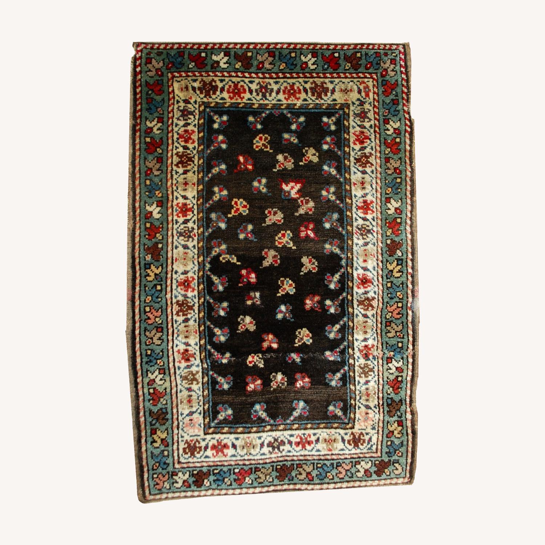 Handmade Antique Caucasian Gendje Rug - image-0