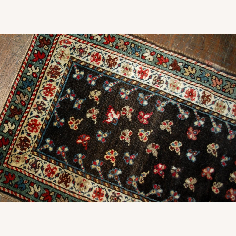 Handmade Antique Caucasian Gendje Rug - image-4