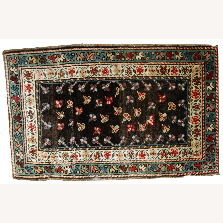 Handmade Antique Caucasian Gendje Rug - image-5