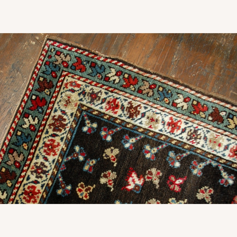 Handmade Antique Caucasian Gendje Rug - image-6