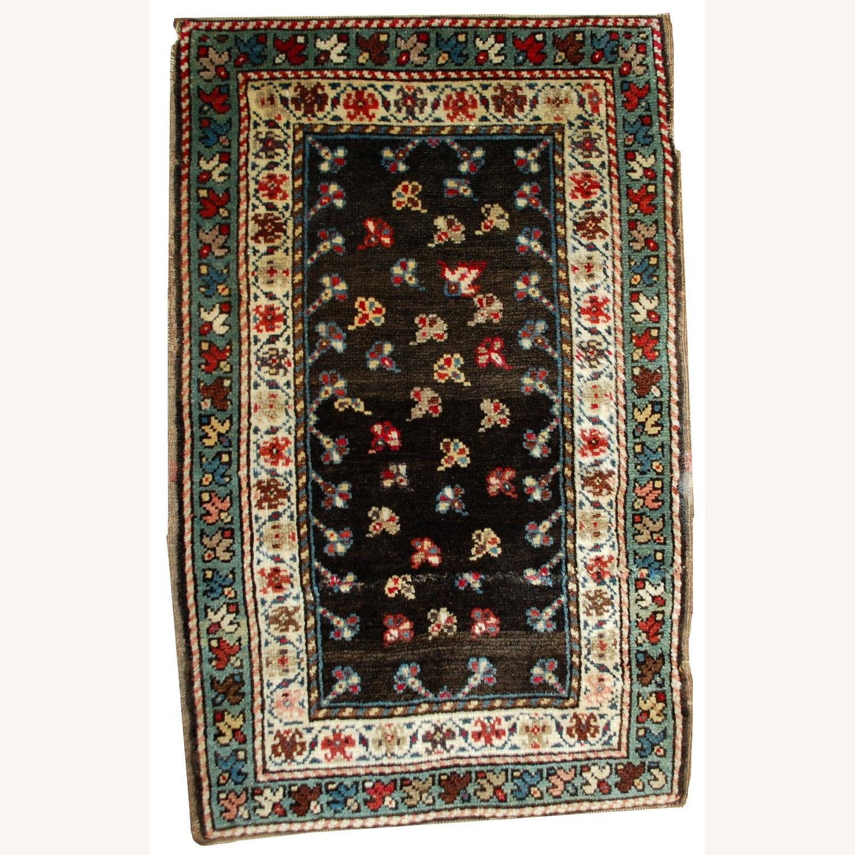 Handmade Antique Caucasian Gendje Rug - image-1