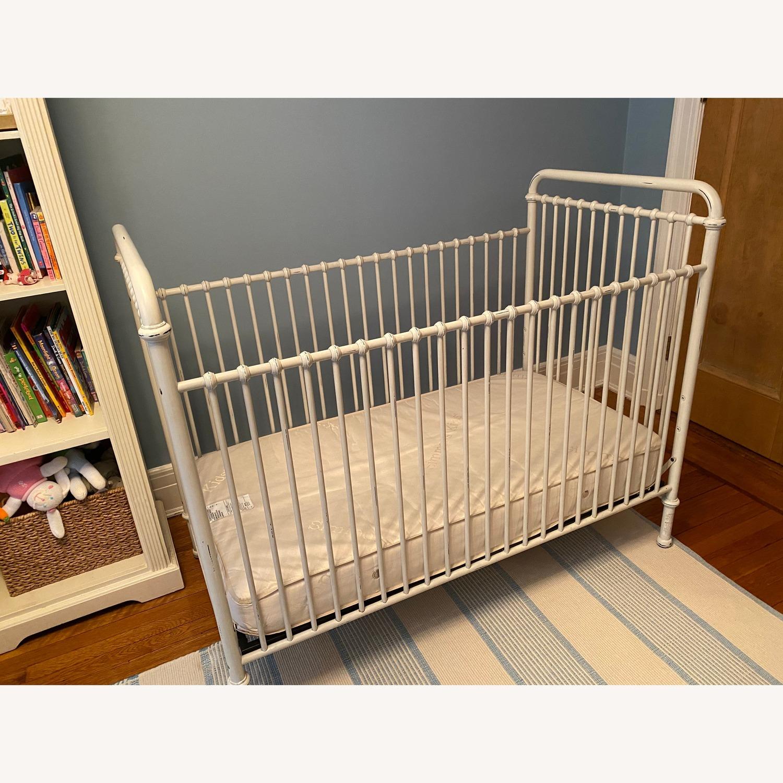 Restoration Hardware Kennedy Iron Crib - image-2