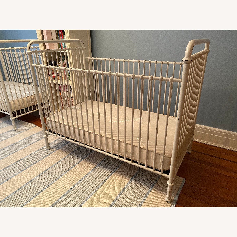 Restoration Hardware Kennedy Iron Crib - image-1