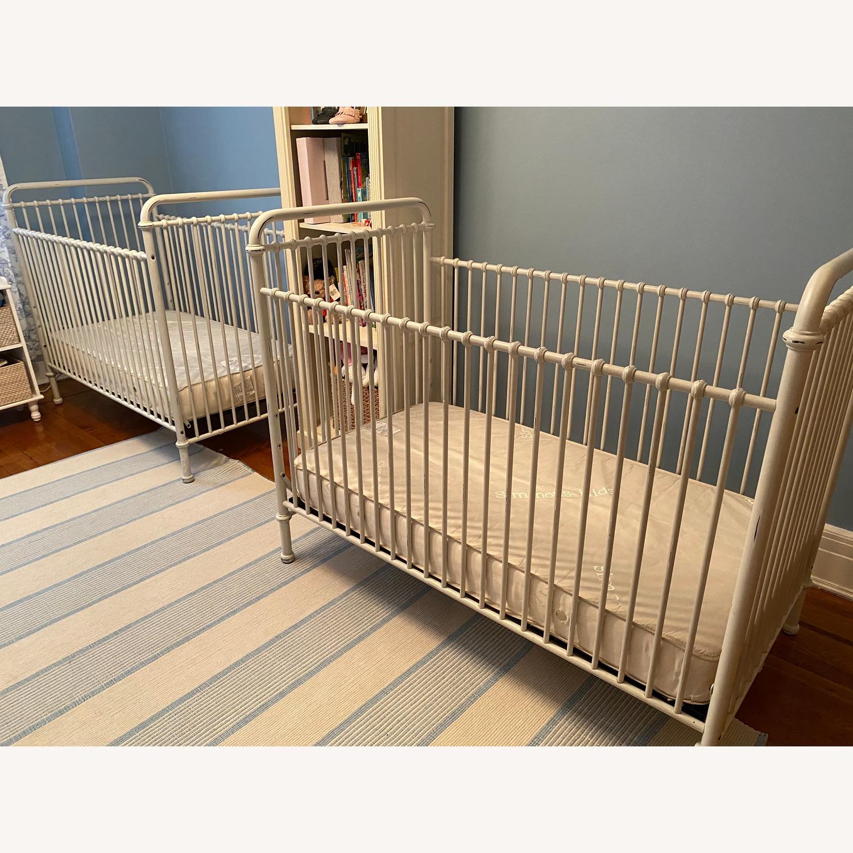 Restoration Hardware Kennedy Iron Crib - image-3