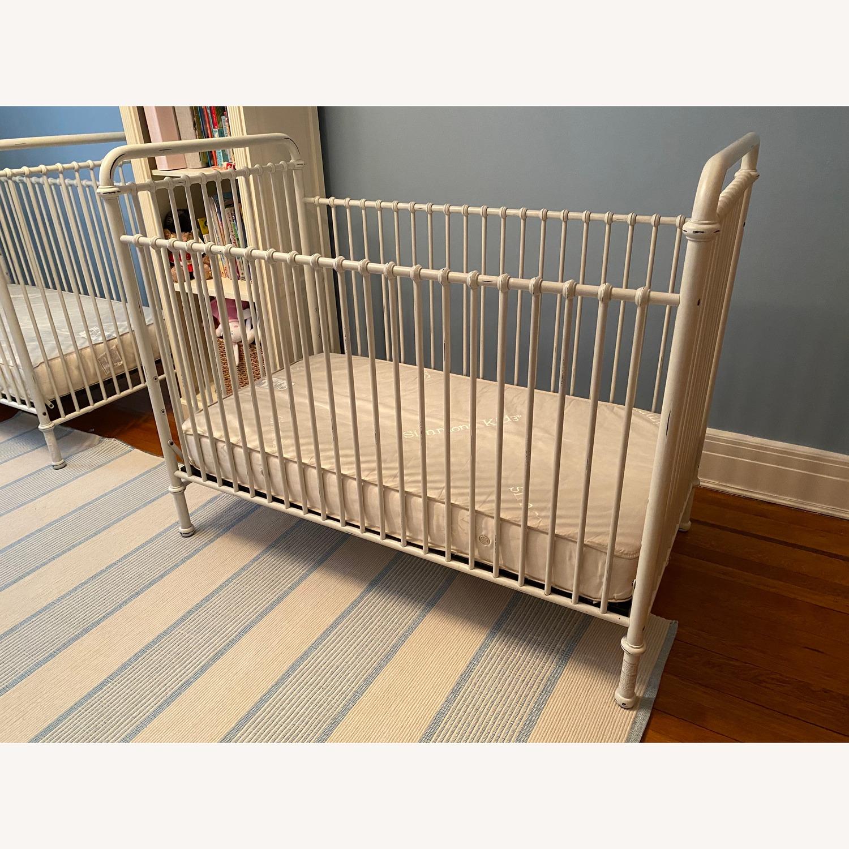 Restoration Hardware Kennedy Iron Crib - image-4