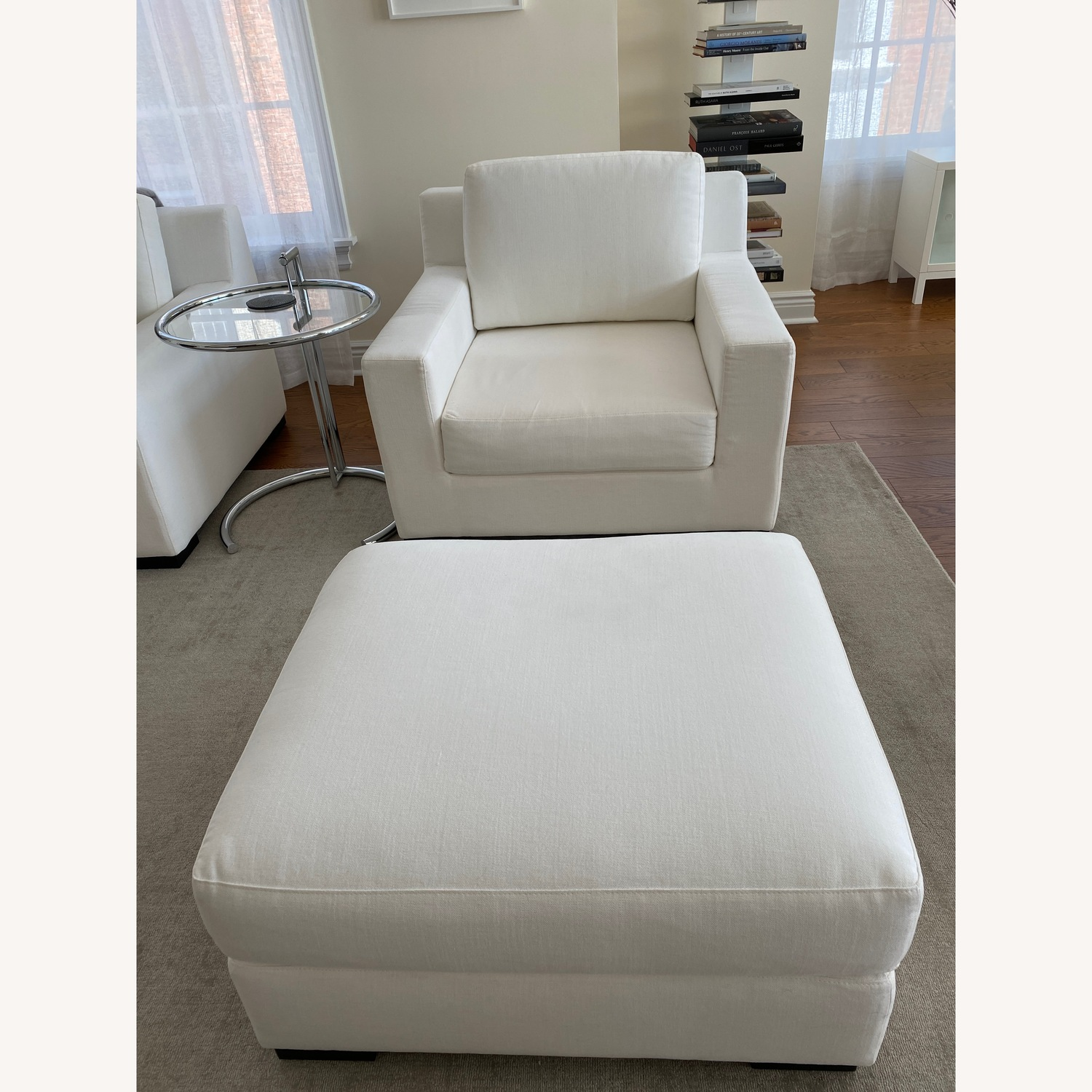 Restoration Hardware Modena Chairs with Ottomans Set - image-2