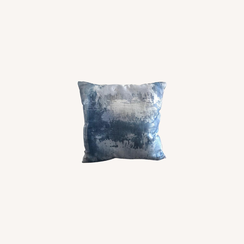 West Elm Brocade Haze Pillow - image-0