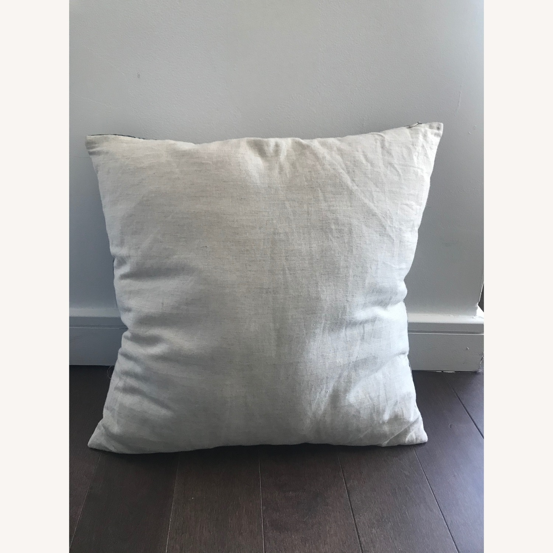 West Elm Brocade Haze Pillow - image-4