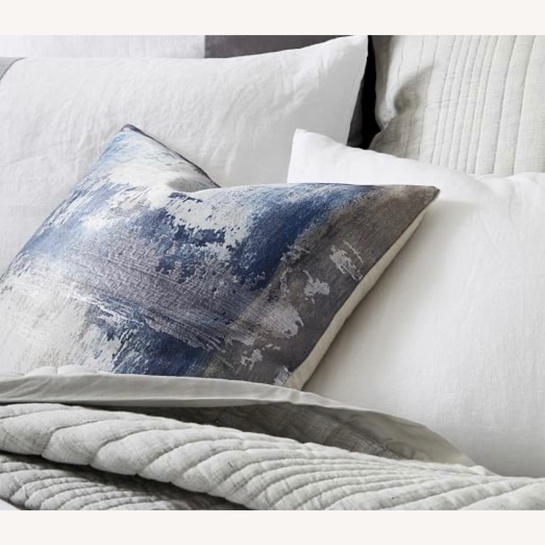 West Elm Brocade Haze Pillow - image-3