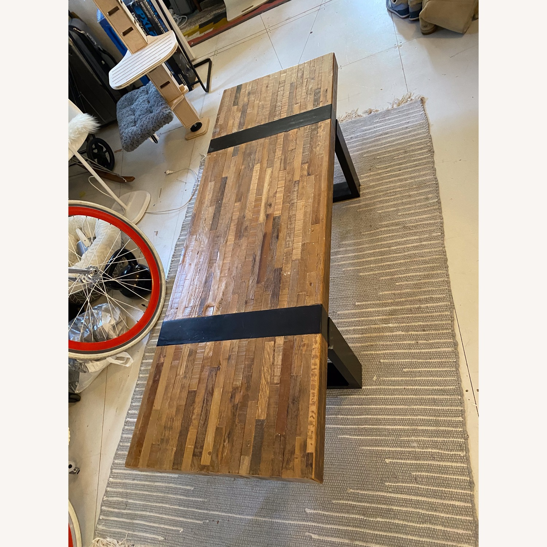 Crate & Barrel Seguro Rectangular Coffee Table - image-1