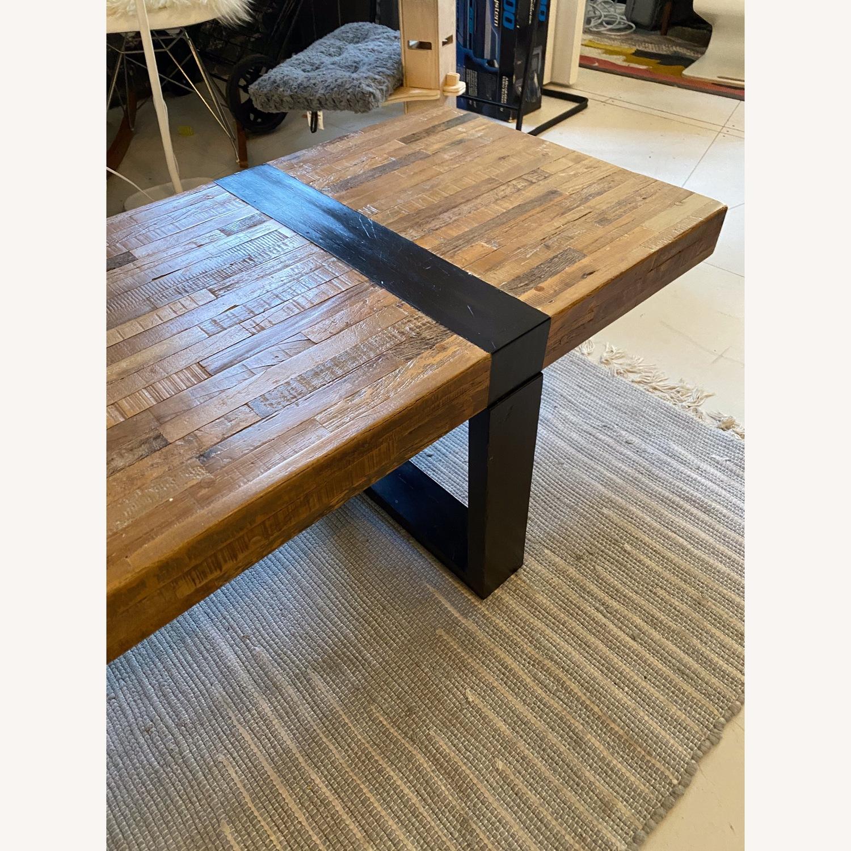Crate & Barrel Seguro Rectangular Coffee Table - image-2