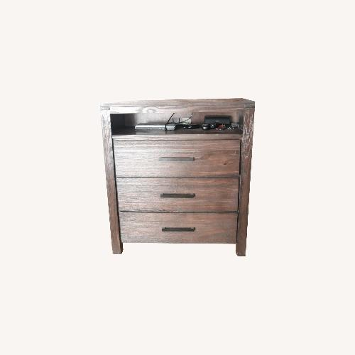 Used Austin Rustic Media Chest for sale on AptDeco