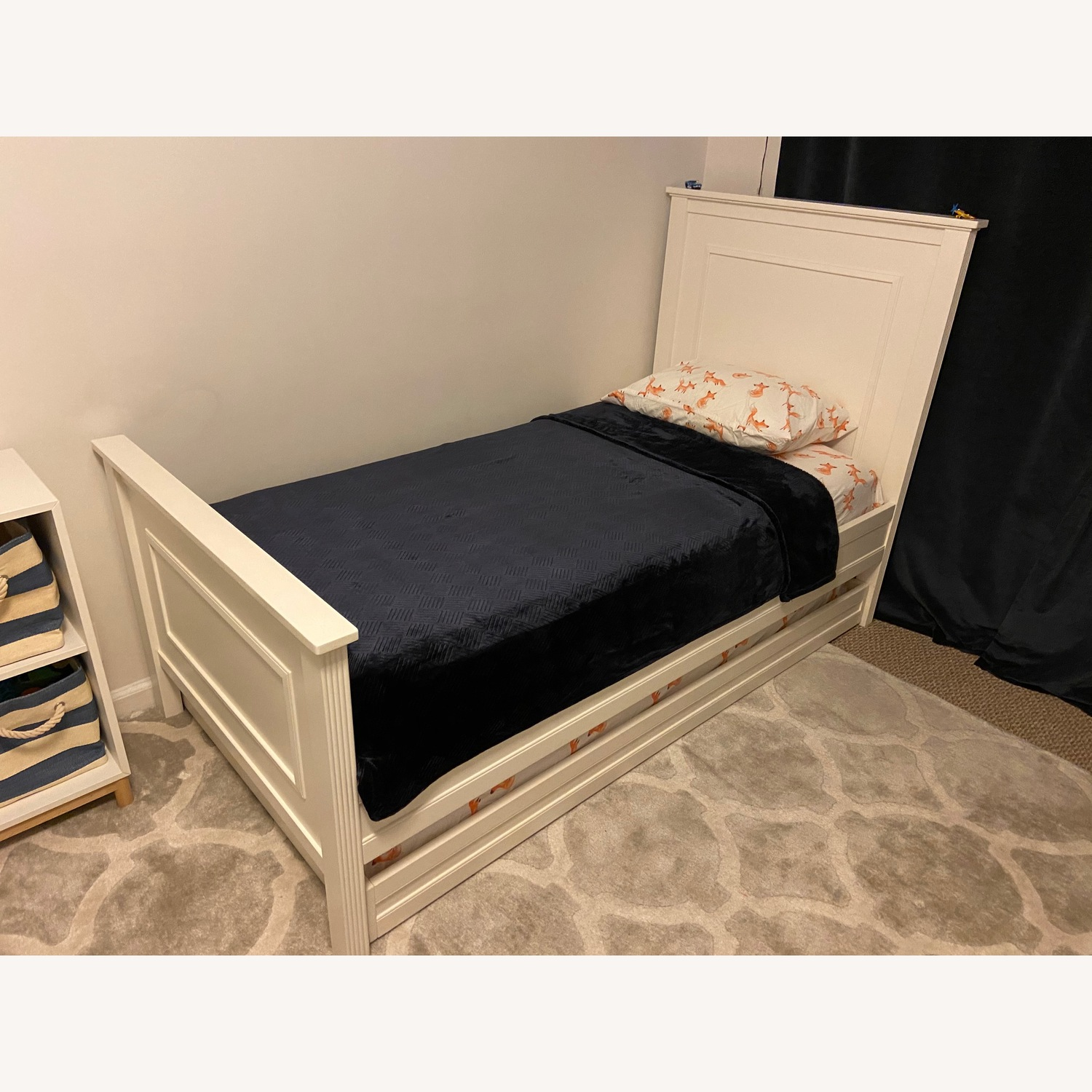 Pottery Barn Kids Fillmore Twin Bed and Trundle - image-2