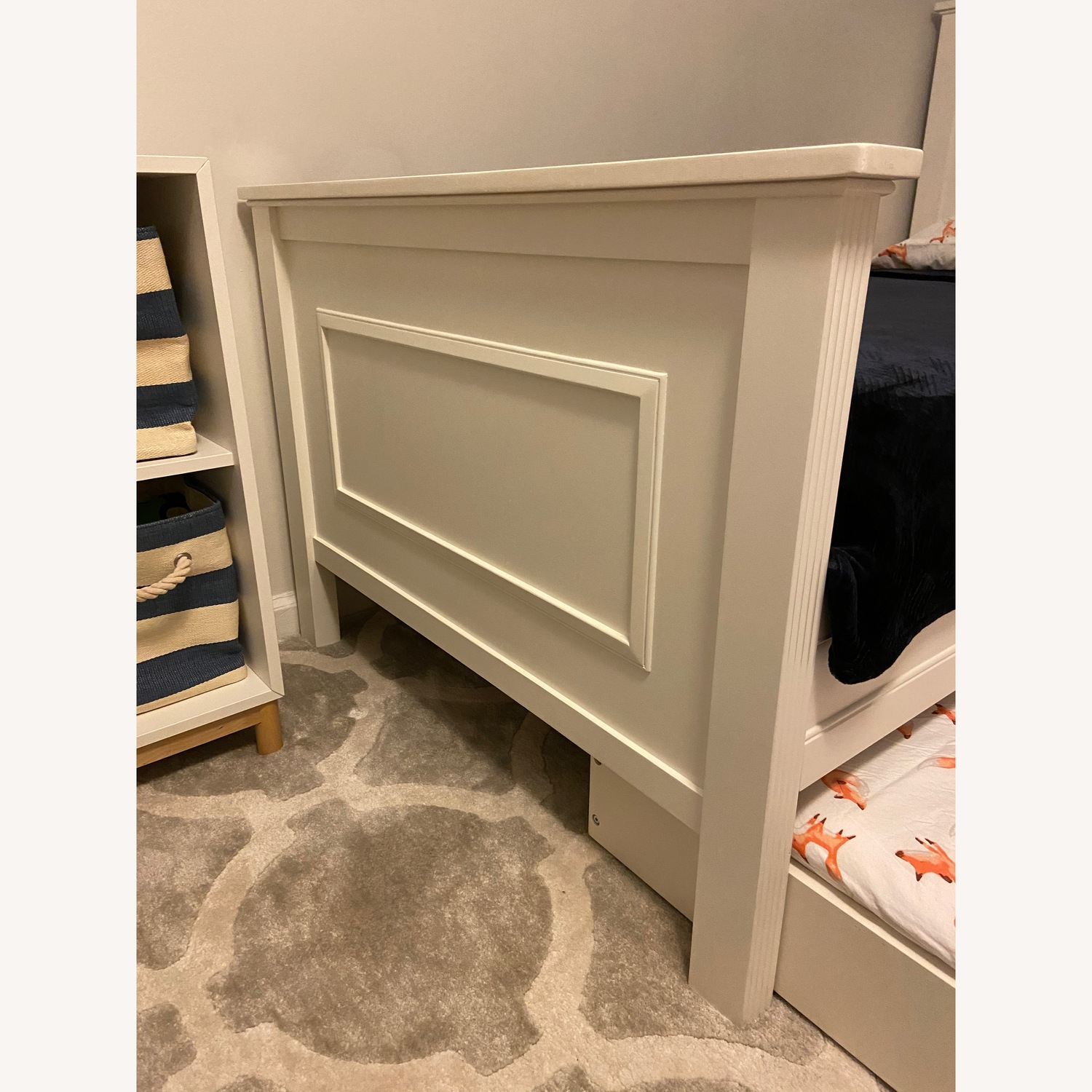 Pottery Barn Kids Fillmore Twin Bed and Trundle - image-4