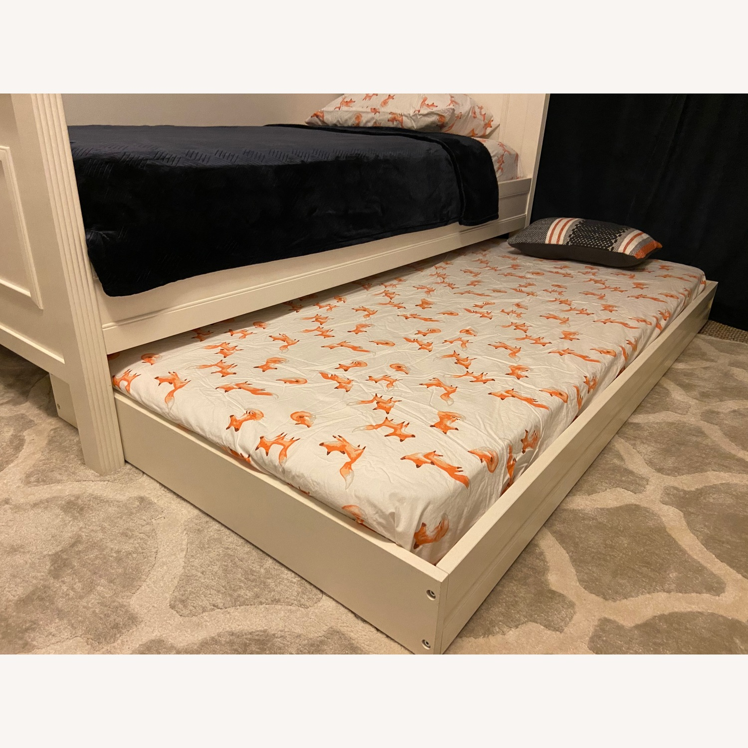 Pottery Barn Kids Fillmore Twin Bed and Trundle - image-3