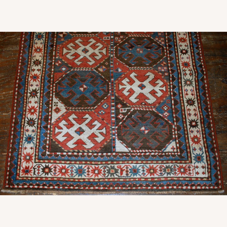 Handmade Antique Caucasian Kazak Mohan Rug - image-2