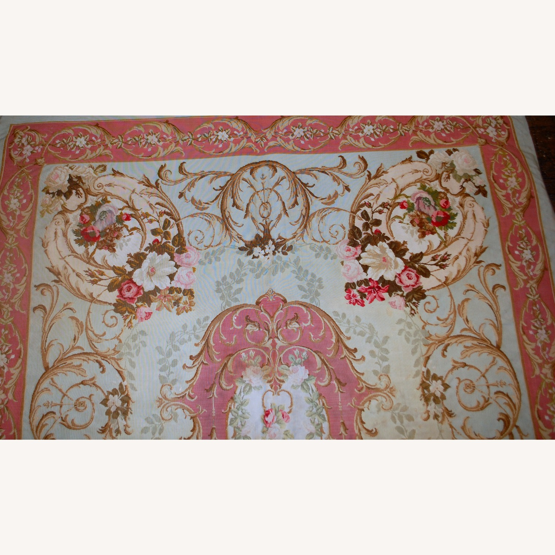 Handmade Antique French Aubusson Napoleon Rug - image-4