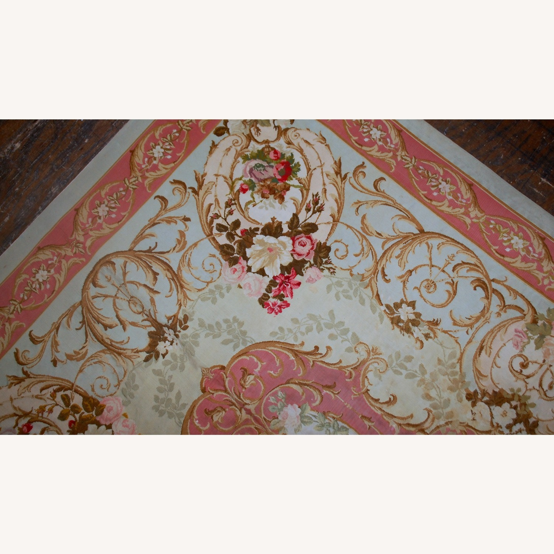 Handmade Antique French Aubusson Napoleon Rug - image-2
