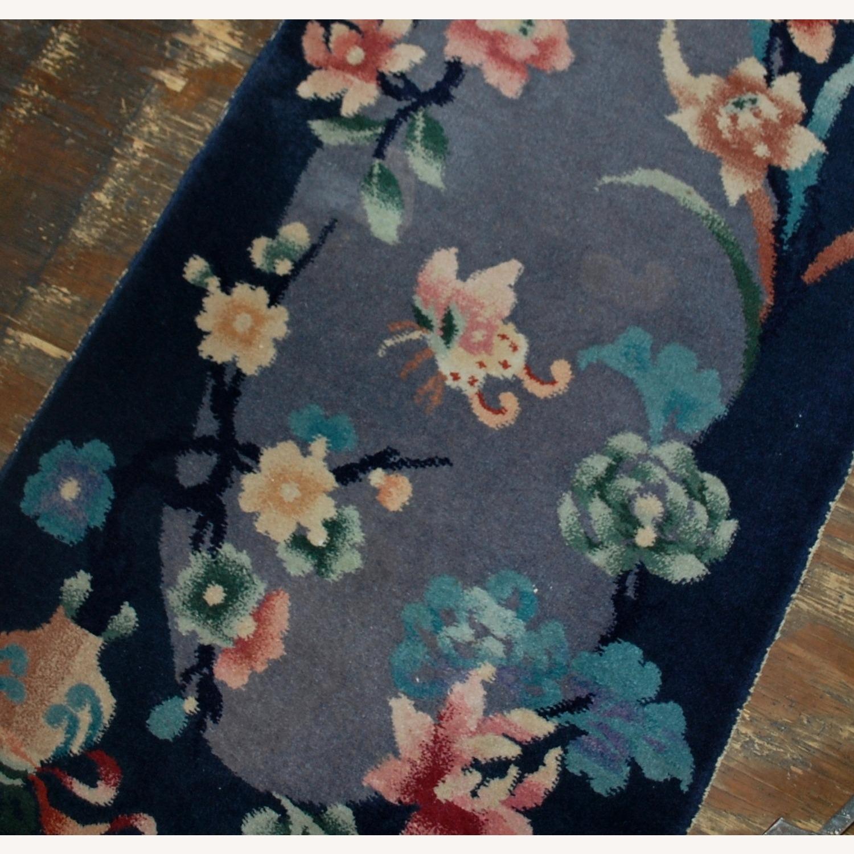 Handmade Antique Art Deco Chinese Rug - image-2