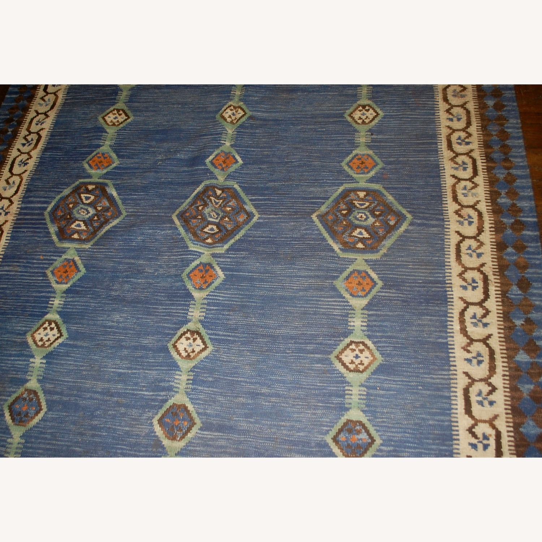Handmade Antique Indian Dhurri Kilim - image-6
