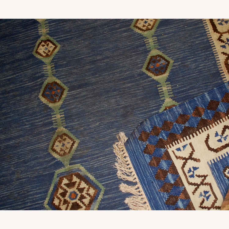 Handmade Antique Indian Dhurri Kilim - image-2