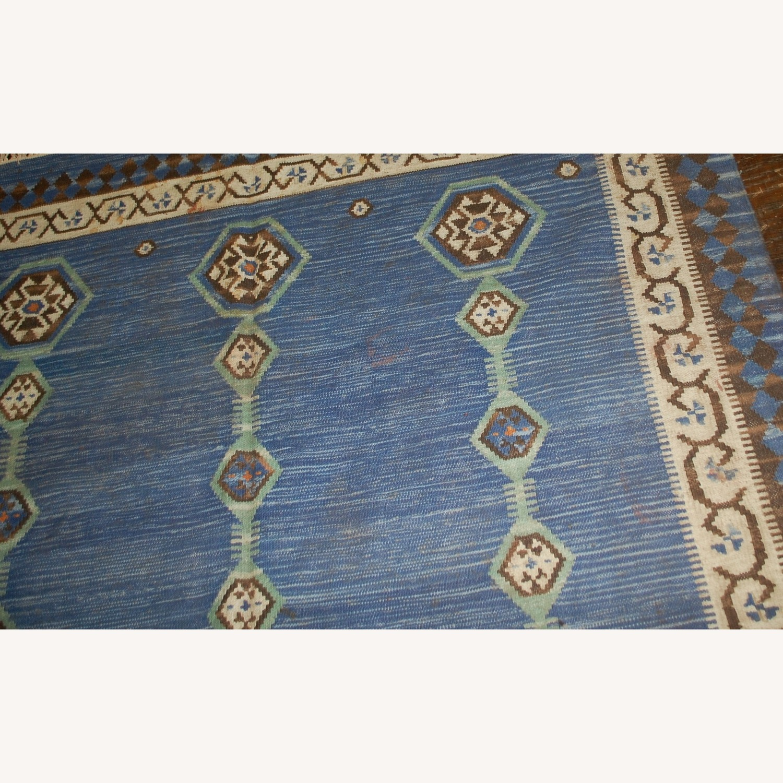 Handmade Antique Indian Dhurri Kilim - image-4