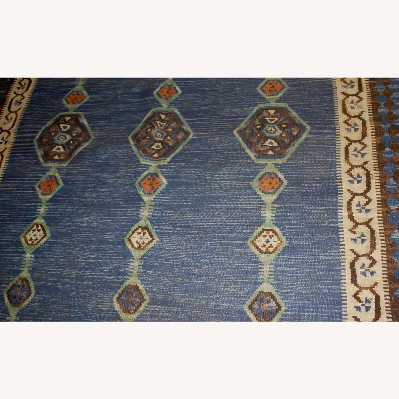 Handmade Antique Indian Dhurri Kilim - image-3
