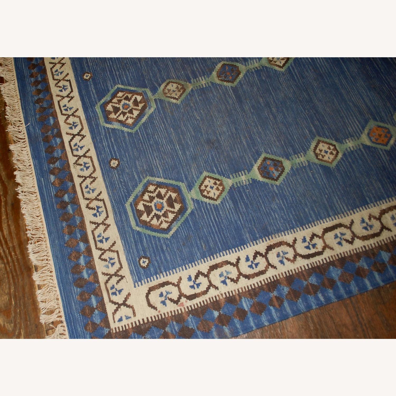Handmade Antique Indian Dhurri Kilim - image-7