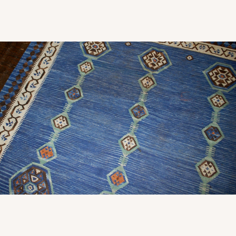 Handmade Antique Indian Dhurri Kilim - image-8