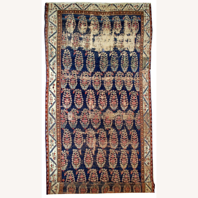 Handmade Antique Northwest Persian Runner - image-1