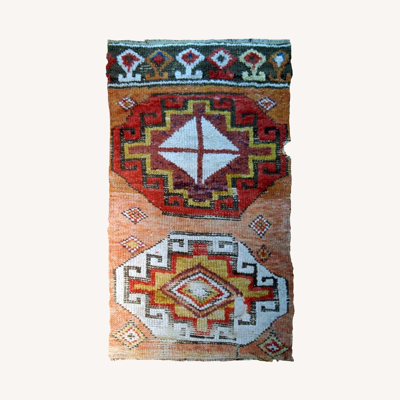 Handmade Antique Turkish Konya Fragment - image-0