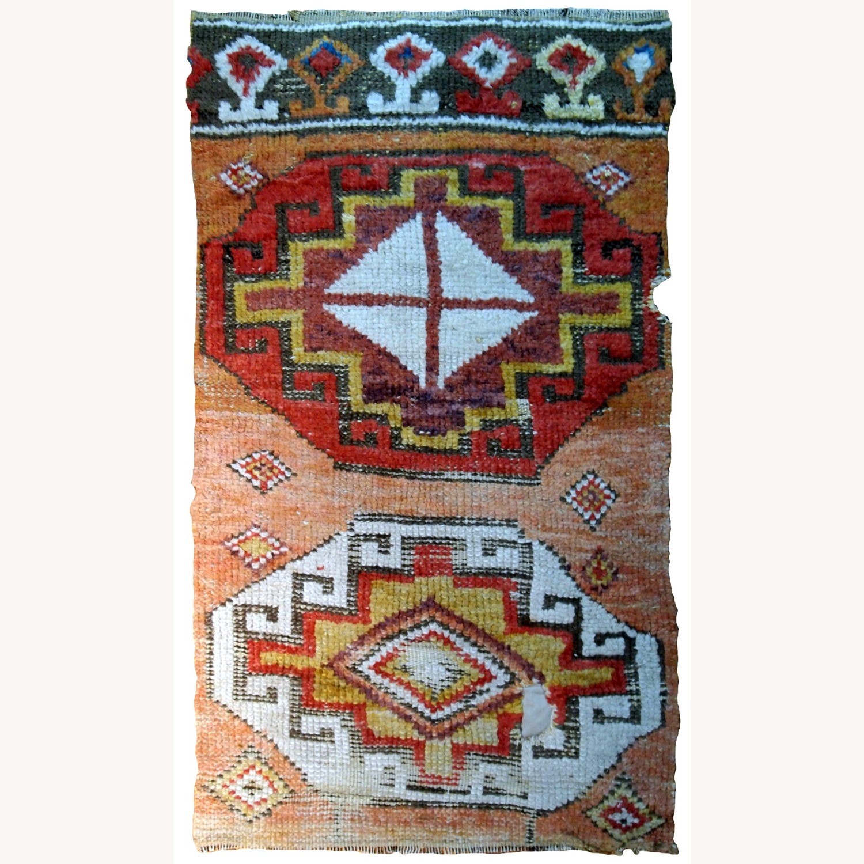 Handmade Antique Turkish Konya Fragment - image-1