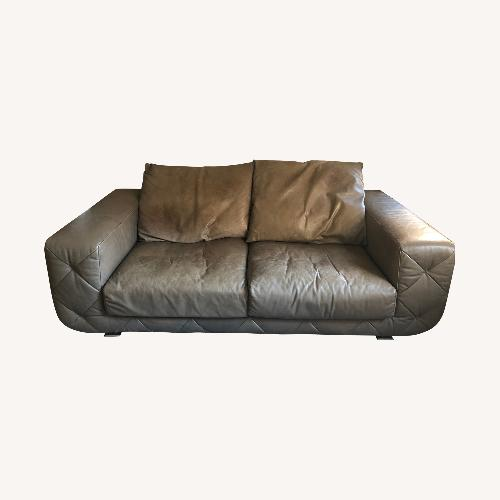 Used Natuzzi Comfortable Leather Sofa for sale on AptDeco