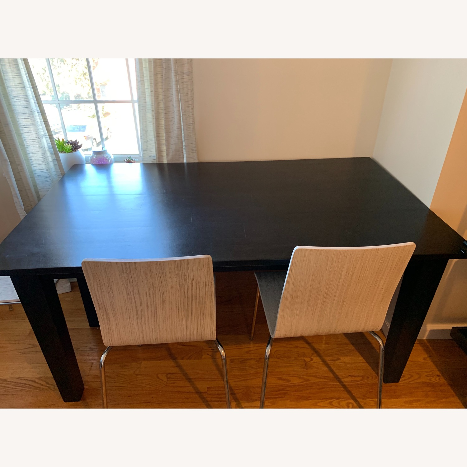 Crate & Barrel Basque Dining Table - image-2