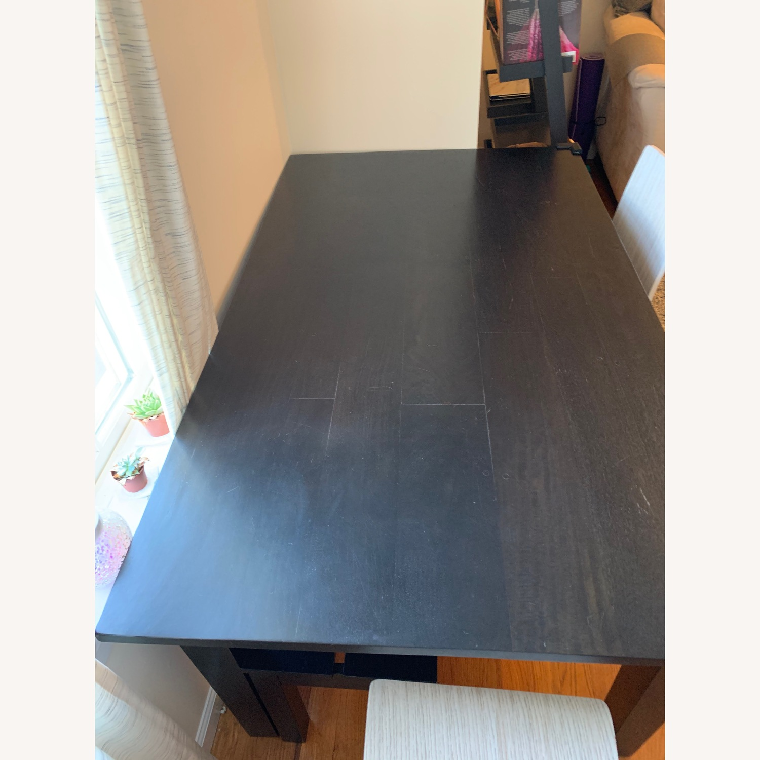 Crate & Barrel Basque Dining Table - image-1