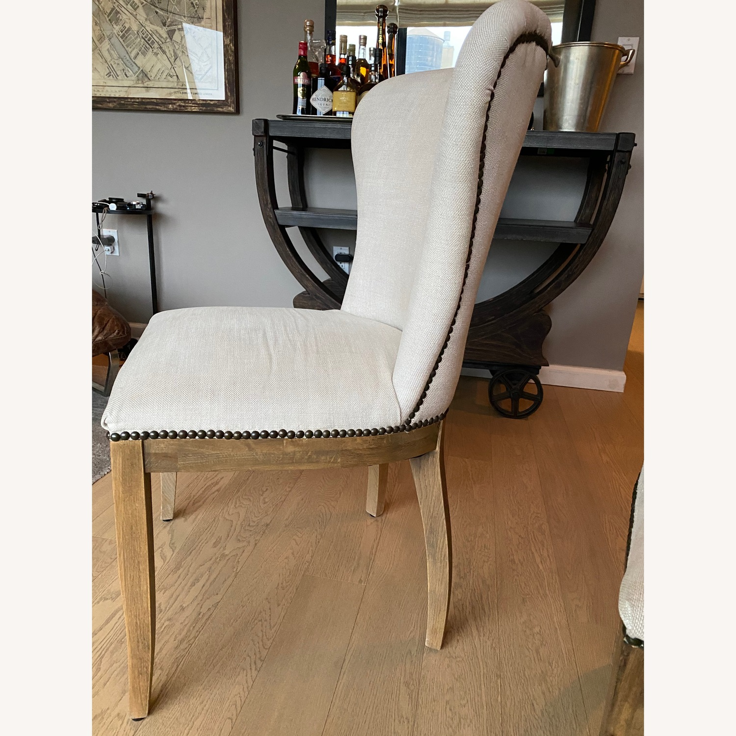 Restoration Hardware Dining Table with 2 Chairs - image-5