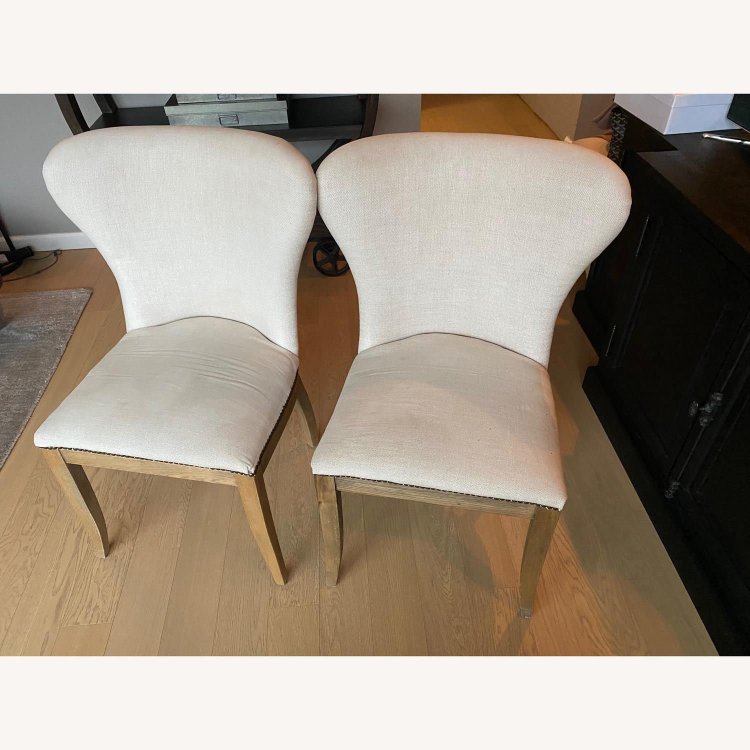 Restoration Hardware Dining Table with 2 Chairs - image-6