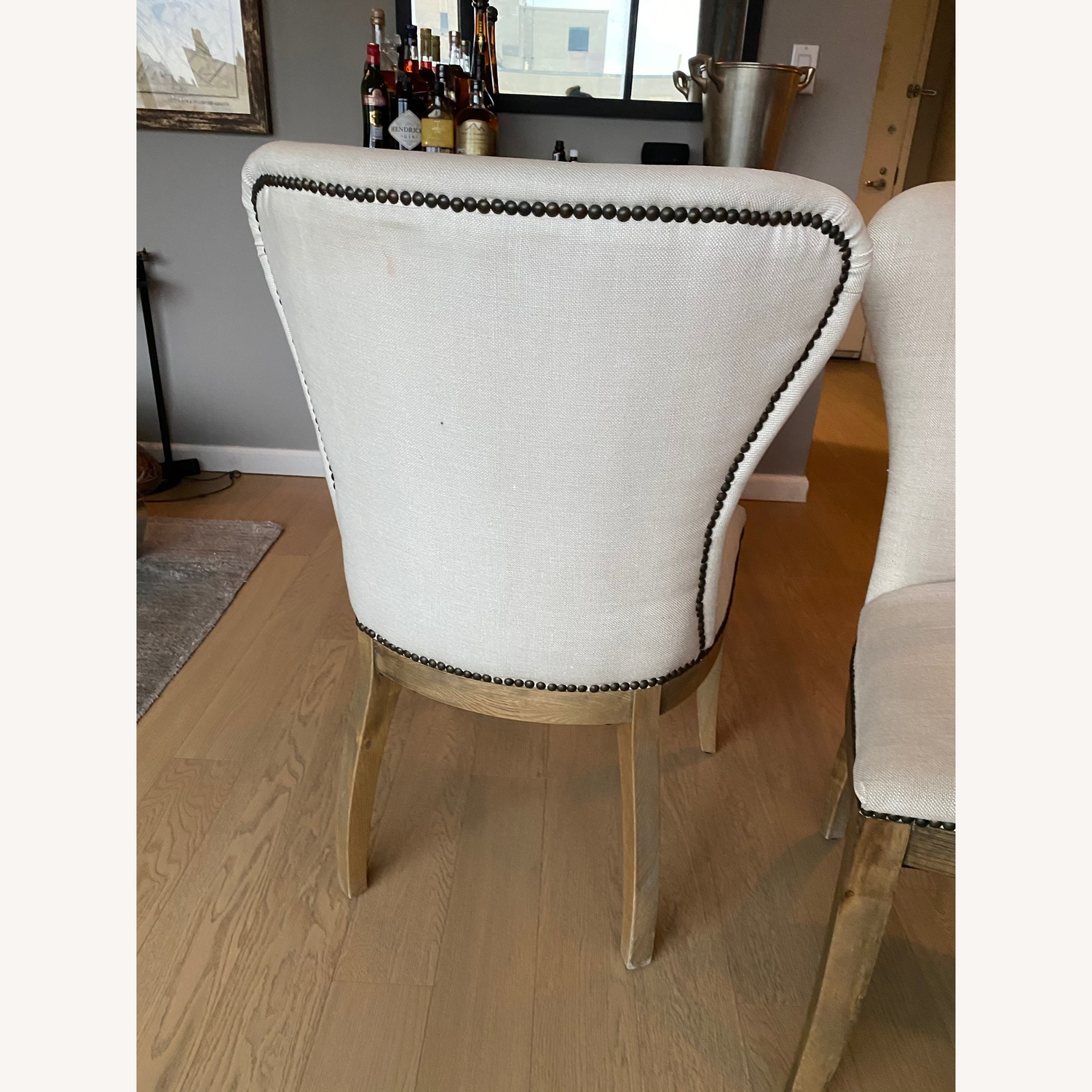 Restoration Hardware Dining Table with 2 Chairs - image-4