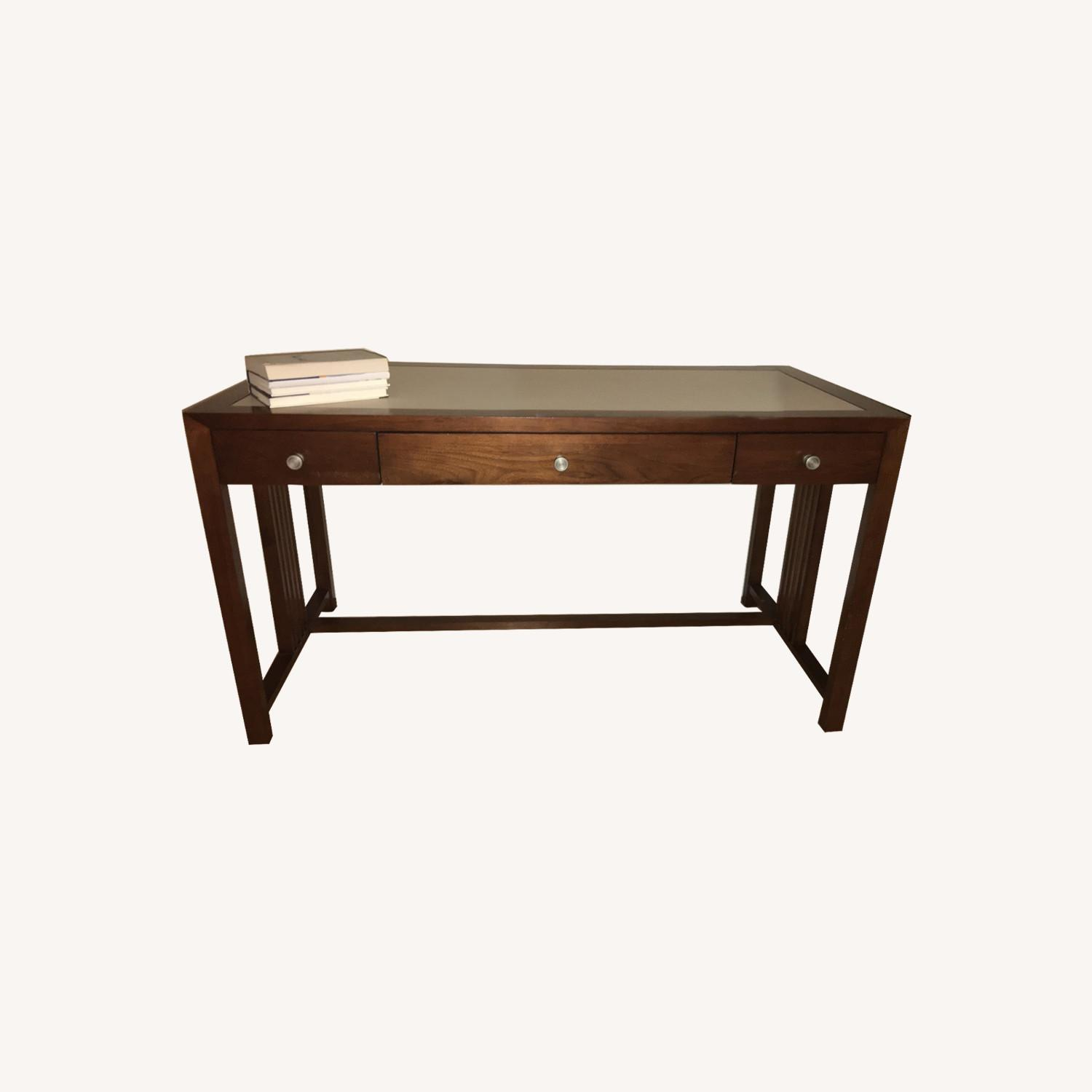 Crate & Barrel Adler Desk - image-0