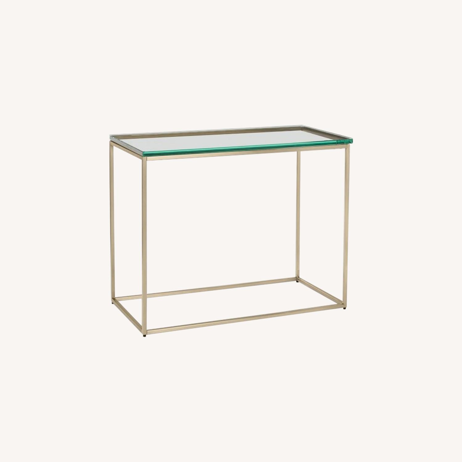 West Elm Streamline Side Table - image-0
