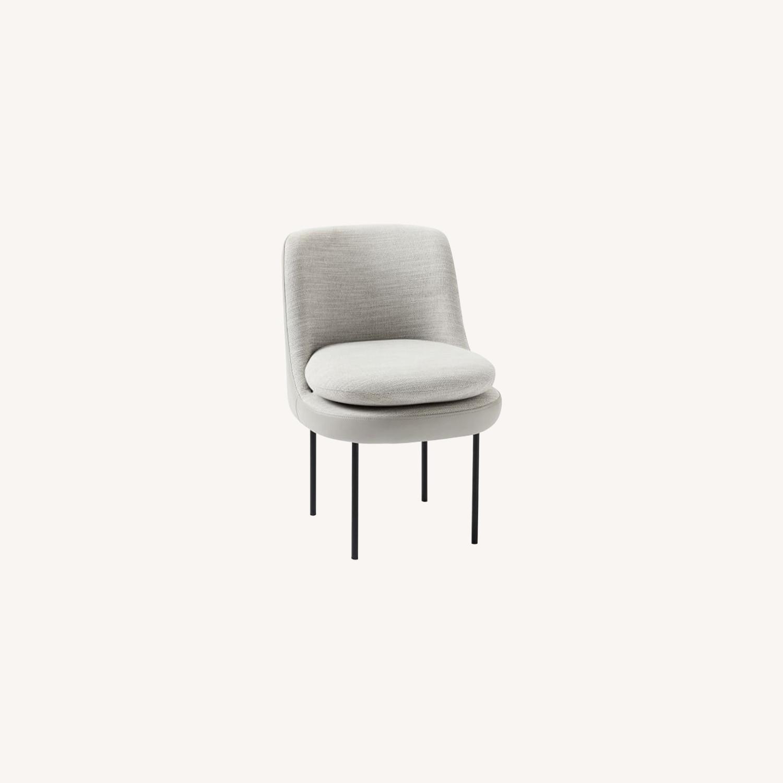 West Elm Modern Dining Chair - image-0
