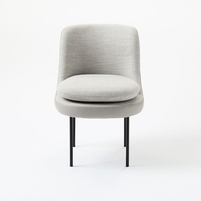 West Elm Modern Dining Chair - image-3