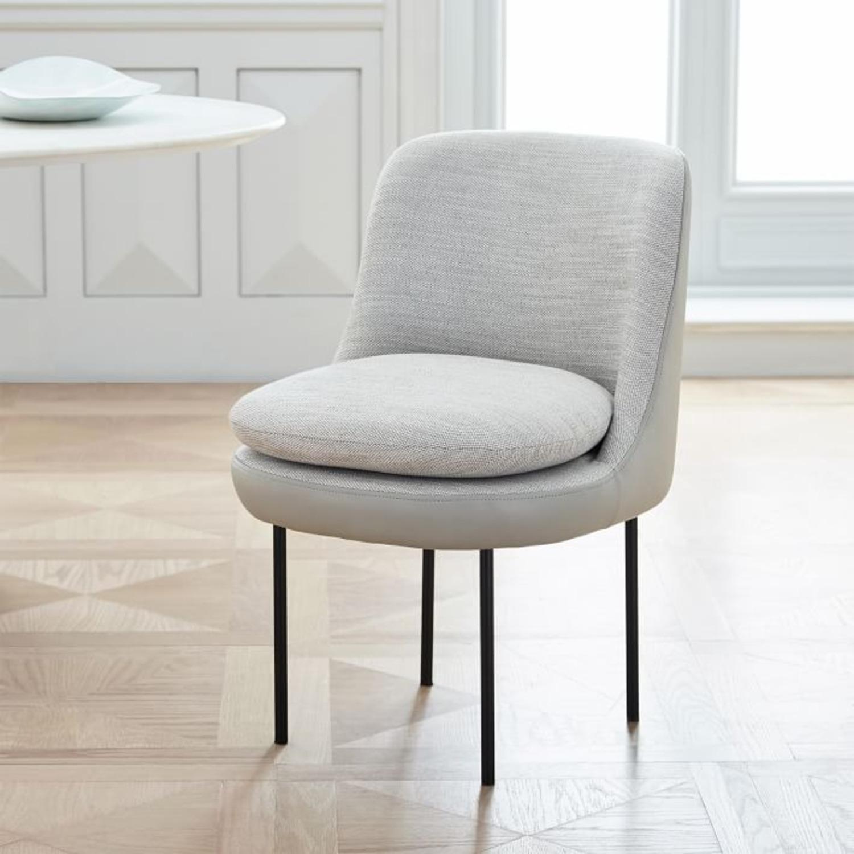 West Elm Modern Dining Chair - image-1