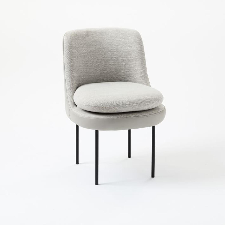 West Elm Modern Dining Chair - image-2