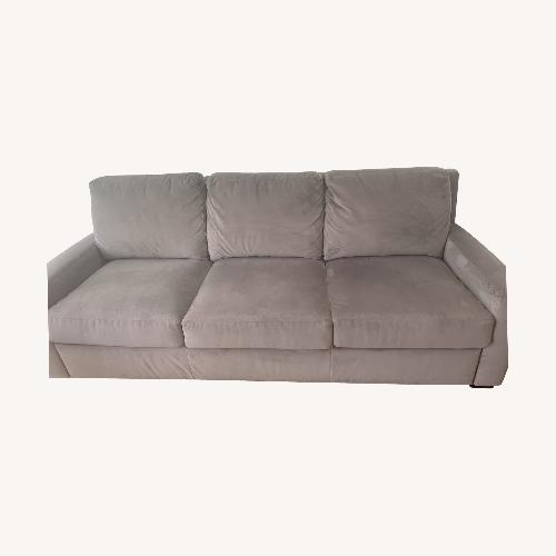 Used Grey Bloomingdales Pull-Out Sofa for sale on AptDeco