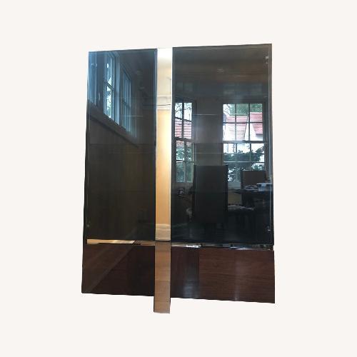 Used ALF Group Italian made 2 Door Curio with glass doors for sale on AptDeco